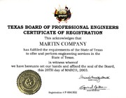 The Texas Board of Professional Engineers